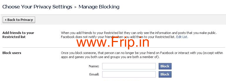 Block People And Apps On Facebook