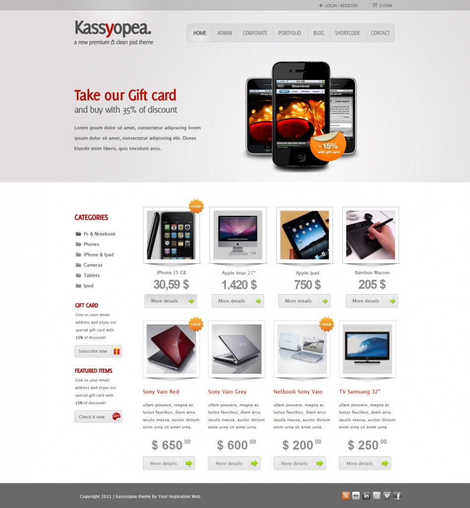 best 35 e commerce wordpress theme of 2012 updated. Black Bedroom Furniture Sets. Home Design Ideas